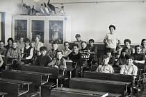 Žáci základní školy v Plané nad Lužnicí.