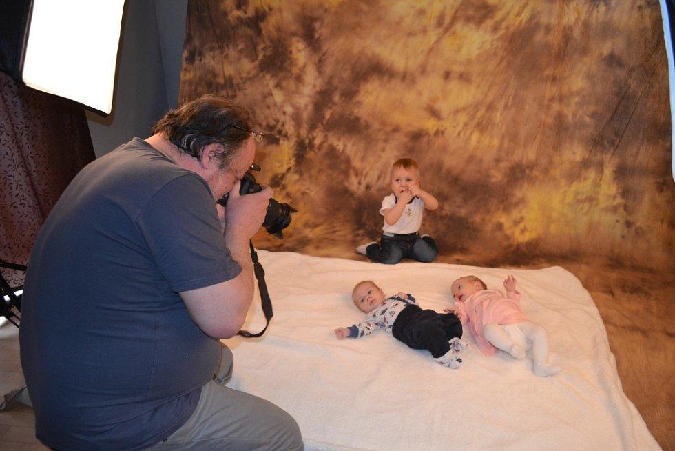 Nejbáječnější miminka u fotografa.