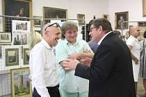 Památník Mladovožicka hostí výstavu Obrazy versus fotografie.