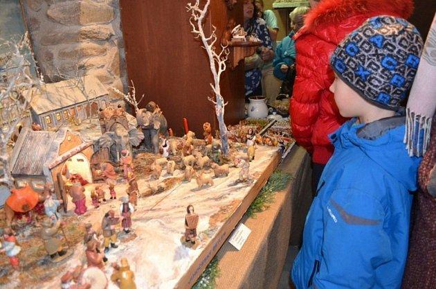 Výstava betlémů ve Hvožďanech