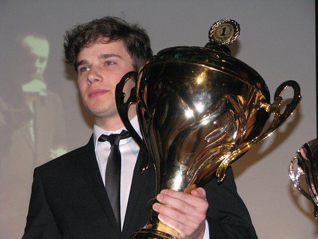 Jakub Skála, sportovní král Táborska v roce 2014.