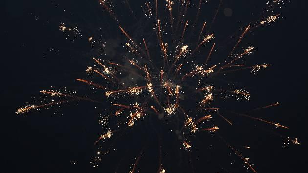 Tábor přivítal nový rok 2018.