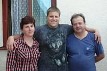 Předplatitelé z Veselí nad Lužnicí : Miroslava, Josef a Antonín Chodilovi