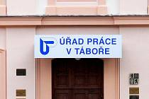 Úřad práce v Táboře. Ilustrační foto.