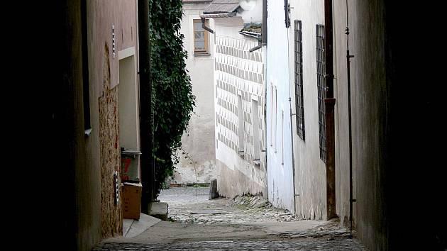 Ulička na Starém městě.
