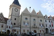 Stará radnice na Žižkově náměstí v Táboře.