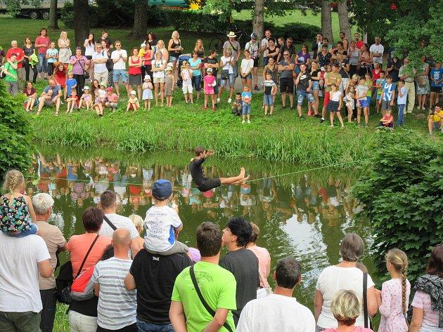 V sobotu vyvrcholily slavnosti ve Veselí nad Lužnicí.