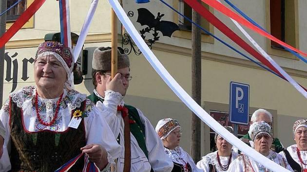 Ilustrační foto - oslavy baráčníků v Soběslavi.