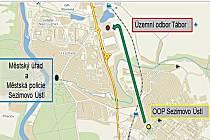 Odkud kam se policisté v Sezimově Ústí přestěhují.