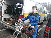 V sobotu se v Soběslavi jel 15. ročník závodu malých motocyklů.