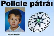 Policie pátrá po dvanáctiletém chlapci.