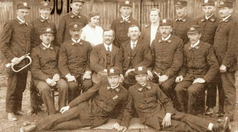 fotografie z roku 1905 SDH Krátošice
