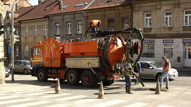 Táborská kanalizace bude v nejbližších dnech prohlížena kamerou, aby se zjistil její stav.
