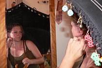 Ilona Frouzová sama moc šperky nenosí. Občas si ale najde ten, který nikdo nechce, takovou Popelku pak zachrání a nosí ji i měsíce v kuse.