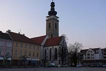 Soběslavské náměstí. Ilustrační foto.
