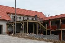 Zoo Větrovy ve výstavbě.