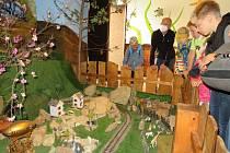 Návštěva Dětského světa s mašinkou, Strašidelného podzemí a Skřítkova v Táboře.