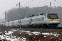 V Táboře zastaví vlak Pendolino