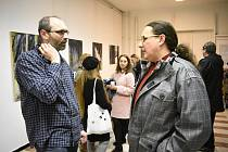 Galerie 2+1 přichystala výstavu obrazů Otakara Nováka, Ireny Novákové a Petra Brožka.