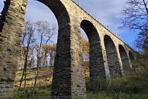 Tip na výlet k železničnímu viaduktu v Chýnově.