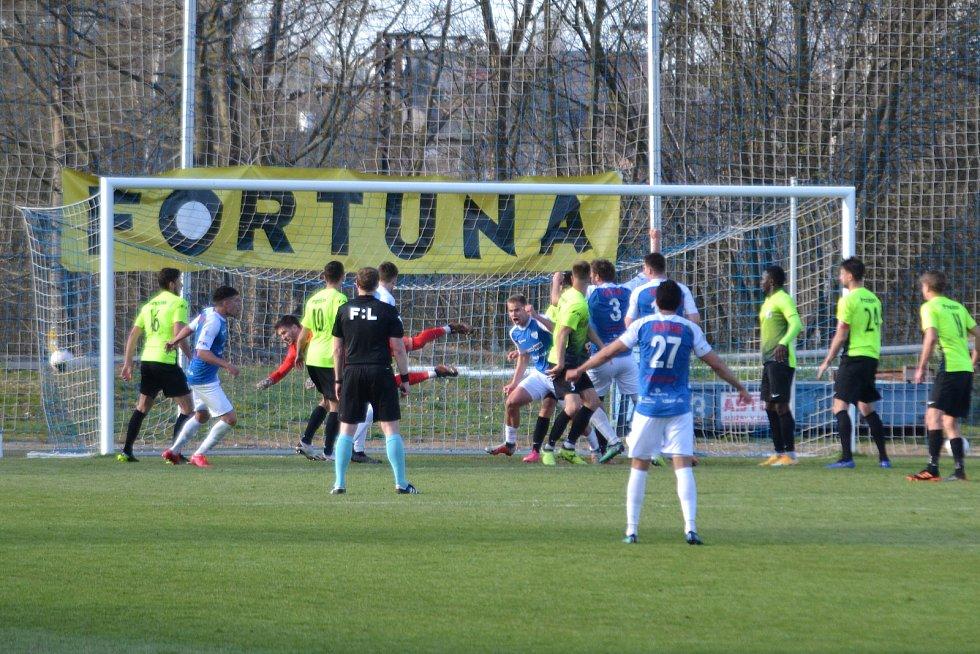 Táborsko vs. Prostějov v 17. kole FNL 1:2.