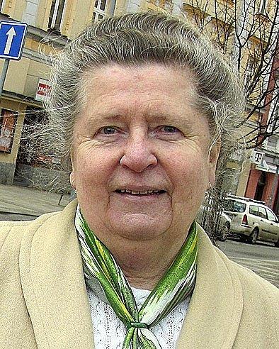 Václava Veselá zBechyně