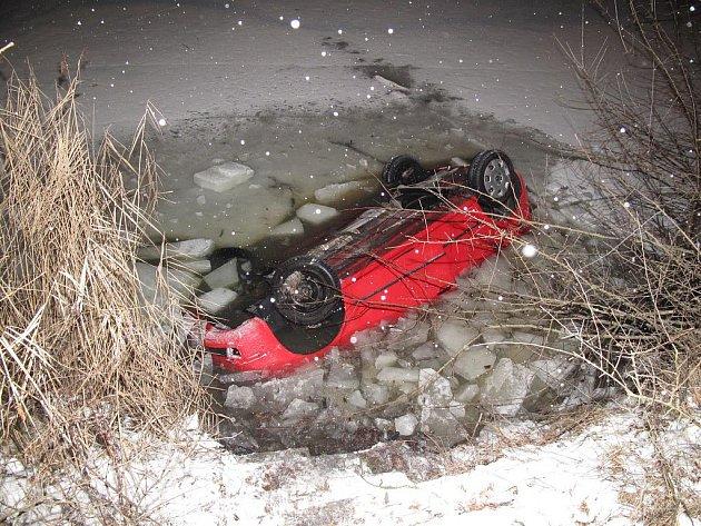 Nehoda v Plané nad Lužnicí.