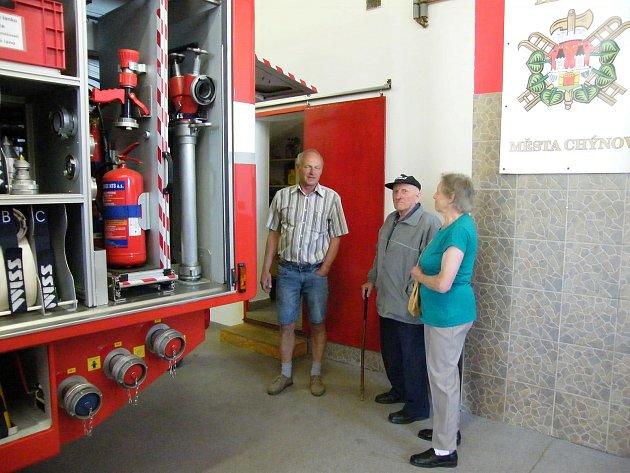 Oslavy svátku patrona všech hasičů sSDH Chýnov.