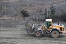 Těžba písku. (Ilustrační foto).