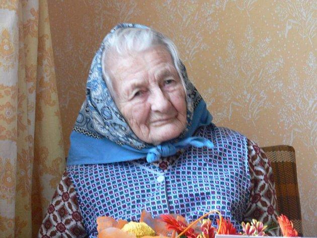 Nejstarší občanka Zalší Marie Vaverová oslavila sto let od svého narození.