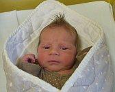 Jakub Hájek z Mezné. Přišel na svět  31. října ve 23.57  hodin. Po narození vážil 3460 gramů, měřil 49 cm a doma už má dvouletého brášku Filipa.