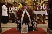 Poslední rozloučení s Monsignorem Vladimírem Vyhlídkou.