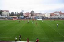FC MAS Táborsko nasázel exligovému Znojmu na jeho hřišti čtyři góly.
