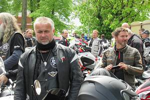 2. ročník motorkářského požehnání v Chýnově.