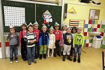 Předškoláci byli ve škole spokojení.