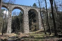 Viadukt u Chýnova.