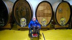 Jan Moravec bojuje s nevyléčitelnou chorobou, bez vozíku a speciálně upraveného auta se neobejde.