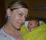 Pavel Zoubek z Tábora. Rodiče Katarína a Vojtěch se 21. prosince v 15.36 hodin dočkali svého prvorozeného syna. Po porodu vážil 2940 gramů a měřil 49 cm.