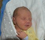 Eliáš Vrchota z Bechyně.  Narodil se 23. dubna v 11.30 hodin. Vážil 3420 gramů, měřil rovných 50 cm a má už doma brášku Daniela, kterému je dva a půl roku.