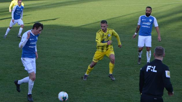 FC MAS Táborsko - FK Varnsdorf 1:2.