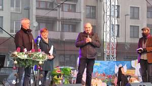Soběslavské náměstí ožilo adventním jarmarkem