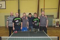Bechynští hráči stolního tenisu z TJ Jiskra Bechyně si zahrají čtvrtou nejvyšší celostátní soutěž.