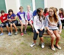 Letní herecká škola v Táboře.
