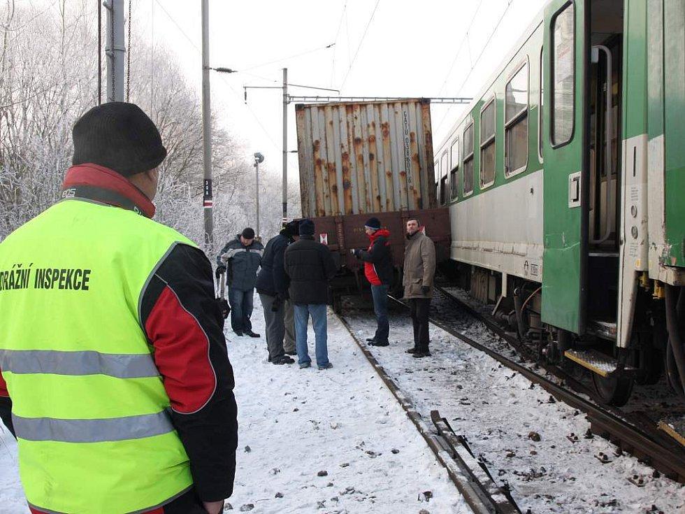 Na Táborsku se srazily vlaky, nikdo není zraněn