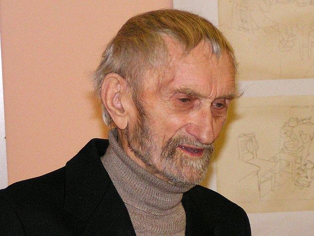 VÝZNAMNÝ UMĚLEC. František Peterka zemřel v úterý ve věku 87 let.