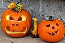 Halloween v Dražicích.