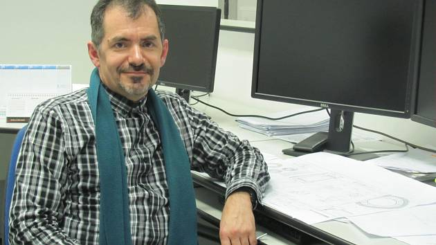 Petr Váradi, technický ředitel firmy.