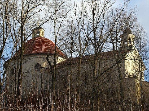 Kaple v Mladé Vožici.