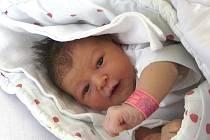 BARBORA ŠŮNOVÁ ZE ZHOŘE U TÁBORA. Na svět poprvé zakřičela 21. ledna. Malá Barborka po narození  vážila 3550 g a  měřila 50 cm.