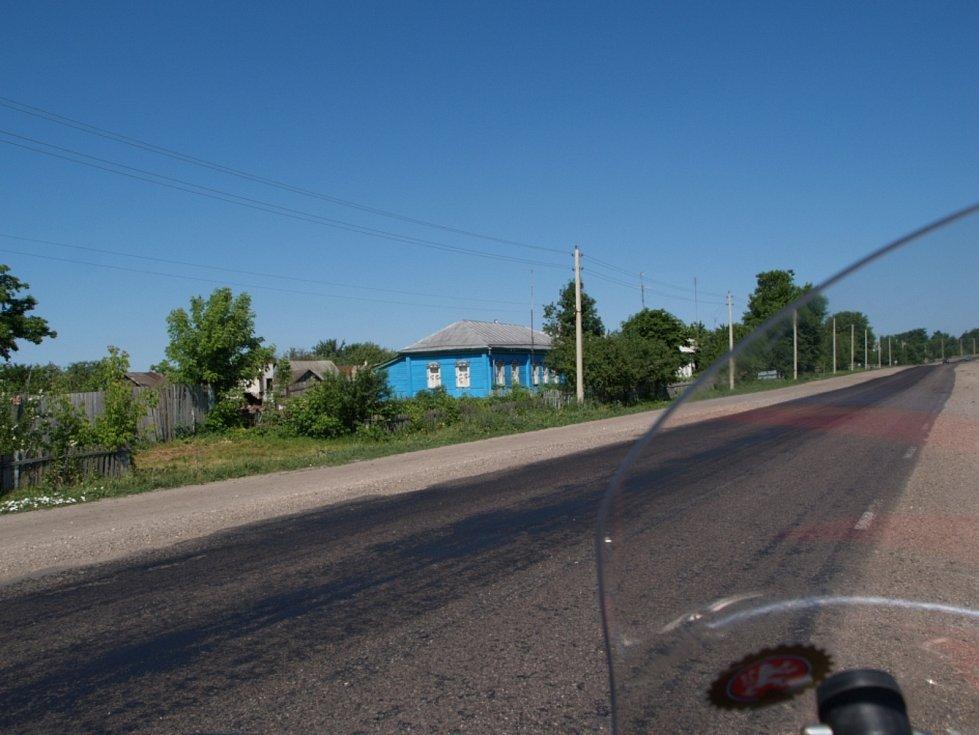 Rusko a 2 590. kilometr na cestě Petra Hošťálka do Pekingu.